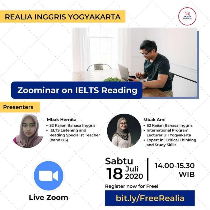 REALIA INGGRIS ZOOMINAR IELTS READING JULI 2020