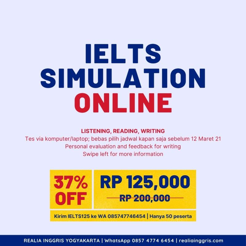 IELTS test simulation online