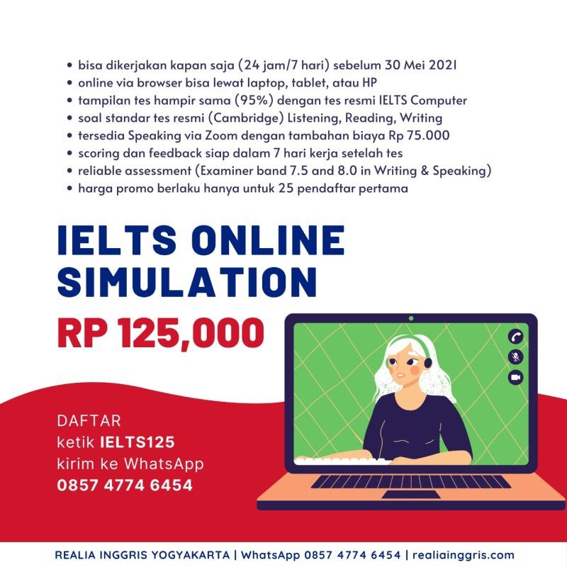 IELTS Simulation prediction online test