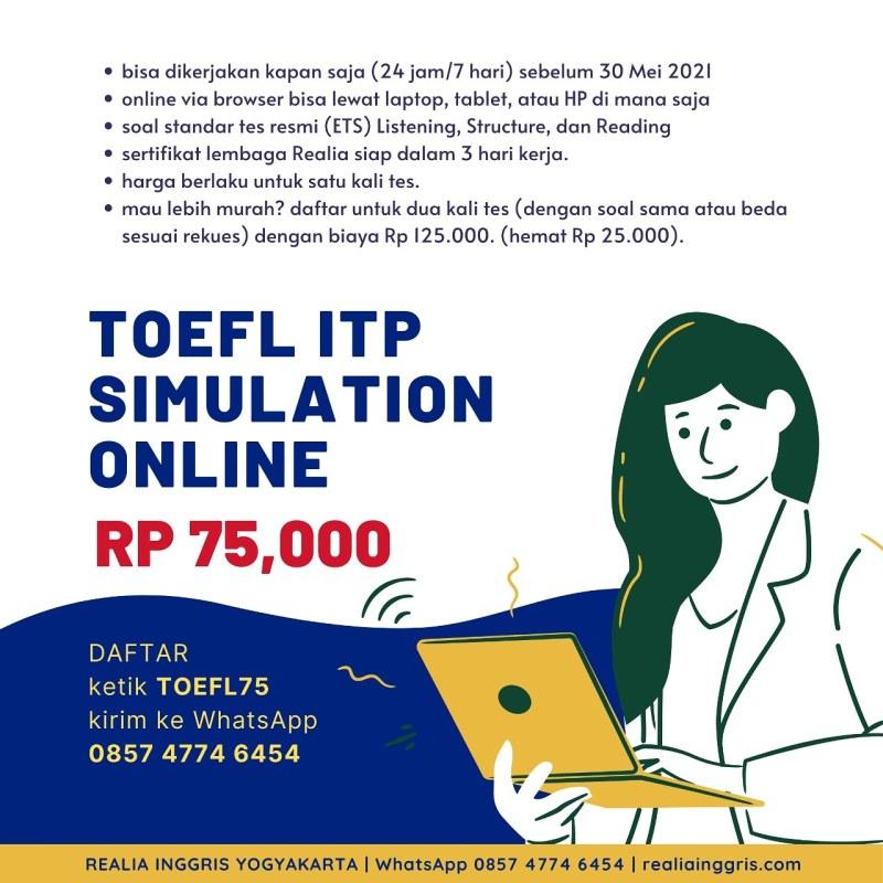 TOEFL online test